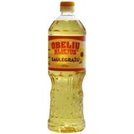 """""""Obelių"""" Saulėgražų aliejus 0.9L (Refined sunflower oil)"""