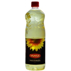 """Vilnius"" Saulėgražu aliejus 1.0L (Refined sunflower oil)"