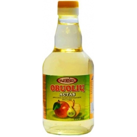 Obuolių actas 6% 400ml (Apple cider vinegar)