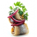 Silkės salotos (Herring salad)