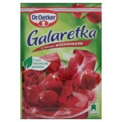 """""""Dr.Oetker""""Vyšnių skonio želė 77g (Jelly of cherry taste)"""
