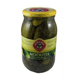 """""""KKF"""" Močiutės marinuoti agurkai 850g (Pickled cucumbers)"""